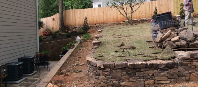 Landscapers greenville sc outdoor goods for Landscaping rocks greenville sc